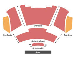 Gallo Theater Seating Chart Foster Family Theatre At Gallo Center For The Arts Tickets