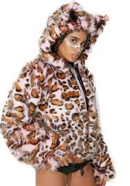 j valentine pink cheetah jacket