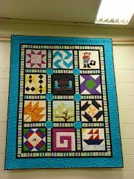 Life is Sew Good: Shop Hop, Stop Ten - Pocatello, Idaho & This is the shop hop quilt that Sages Creek put together. They have a  really cool set up - a big area for fabrics, and a whole separate area -  similar to ... Adamdwight.com