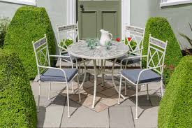 modern garden furniture patio table