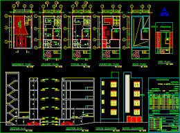 library floor plan dwg