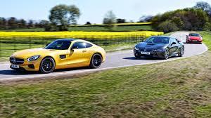 BMW 5 Series bmw m6 vs maserati granturismo : AMG GT vs Porsche 911 Turbo vs BMW i8