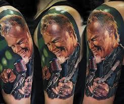 James Hetfield Tattoo Portraits Tattoo Life