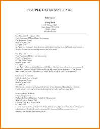 Reference Resume Samples Good Sample Reference In Resume With Vice