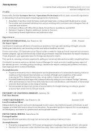 Resume Profile Summary Samples Examples Of A Profile For A Resume