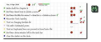 Pomodoro Chart Xortime A Pomodoro Technique App For Windows