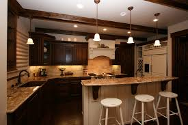 Cabinets Plus Irvine Dark Kitchen Cabinets With Grey Walls Grey And White Painted