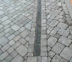 patio drainage solutions with pavers