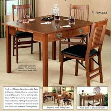 Folding Console Dining Table Expandable Dining Tables For Small Spaces Is  Also A Kind Convertible Console