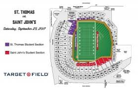 Heres What Target Field Will Look Like For Tommies Johnnies