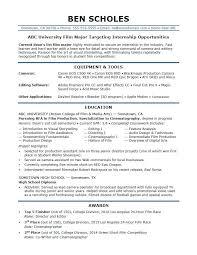 Internship Resume Template Enchanting It Internship Resume Sample Beni Algebra Inc Co Resume Samples
