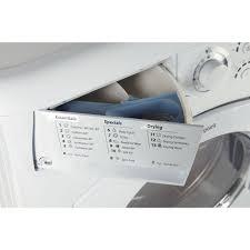 hotpoint washing machine where to put powder. Exellent Put Hotpoint Aquarius WDF 740 P Washer Dryer  White In Washing Machine Where To Put Powder 3