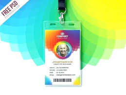 Id Card Templates Free Id Card Template Photoshop Allthingsproperty Info