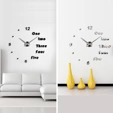 clock wall sticker