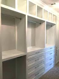 closet ideas storage master shelf design custom built in organizers plans free organizer
