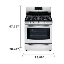Oven Gas Stove Kenmore 74233 50 Cu Ft Freestanding Gas Range W Convection
