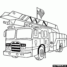 Small Picture Fire Truck Coloring Pages Coloring Print Fire Truck Coloring Pages
