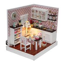 aliexpresscom buy 112 diy miniature doll house. Wooden Dollhouse Miniature Model DIY Kit House Decor Minimalist Kitchen  #Unbranded Aliexpresscom Buy 112 Diy Miniature Doll House N