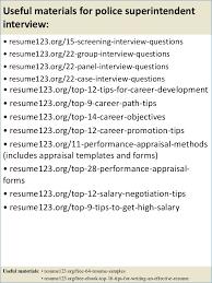 Superintendent Resume Sample Resume Example