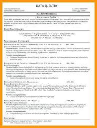 Data Entry Resume Sample Modern Data Entry Resume Unforgettable Data