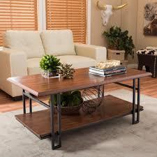 vintage industrial furniture tables design. Adalard Brown And Antique Bronze Coffee Table Vintage Industrial Furniture Tables Design