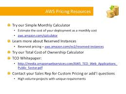 Simple Monthly Calculator Aws Tco Compute