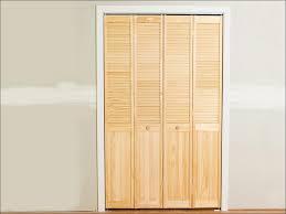 Bathroom : Magnificent Single Panel Bifold Closet Doors Accordion ...