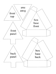 Christmas Tree Box Template