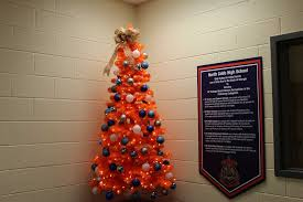 due to the spirit of the season the freshman academy office displays its north cobb