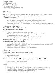 Index Clerk Sample Resume Classy Office Clerk Resume Samples Together With General Office Clerk