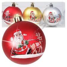Christbaumschmuck Weihnachtsmann ø 8 Cm