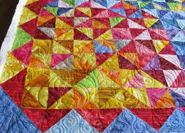 Happy Quilt Done | Carla Barrett & And here is a close up look of the quilting: Adamdwight.com