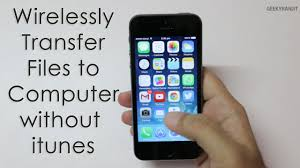Wirelessly Transfer Media from iPhone to puter without using