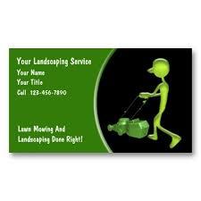 Landscaping Business Card Slogans Low Voltage Landscape
