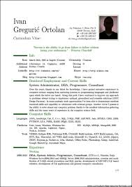 Gallery Of Examples Of Resumes Kids Resume Maker Example Sample