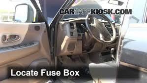 1997 2004 mitsubishi montero sport interior fuse check 1997 locate interior fuse box and remove cover