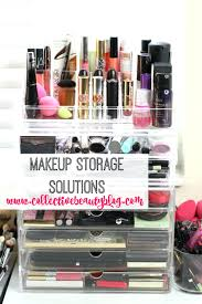 Large Acrylic Makeup Organizer With Drawers Uk Clear Drawer Diy