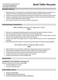 Cover Letter For A Teller Job Bank Teller Cover Letter Sample Tips Resume Companion
