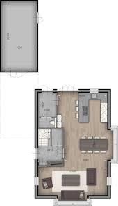Afbeeldingsresultaat Voor Plattegrond Inrichting Woon Eetkamer L