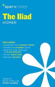 com the iliad sparknotes literature guide sparknotes com the iliad sparknotes literature guide sparknotes literature guide series 9781411469754 sparknotes homer books