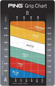 Putter Length Chart Ping Golf Grip Sizes Guide To Select The Right Grip For You