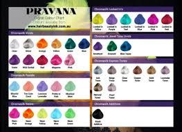 Pravana Chromasilk Vivids Hair Color Chart Dfemale Beauty