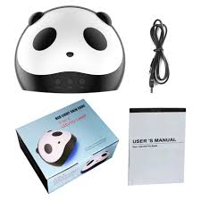 Red Light Skin Care Lampara Honlian Panda Uv Led Lamp 36w Lamp For Nail 12 Leds Cure All