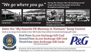 exchange essay contest highlights px memories in vietnam article exchange essay contest highlights px memories in vietnam