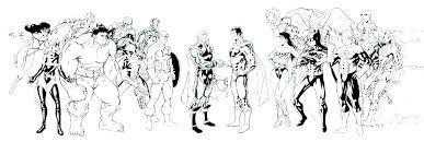 Dc Justice League Coloring Pages Young Children Best Of Justic