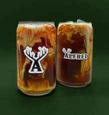 Logo Pint Glass – Alfred