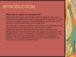 maths in daily life 3 introduction what use is maths in everyday life