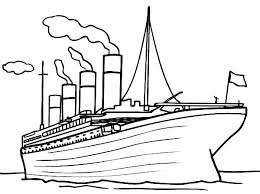 Small Picture Printable Titanic Coloring Pages Coloring Me