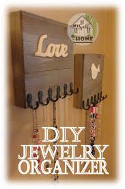 Diy Jewelry Organizer Diy Jewelry Organizer My Self At Home