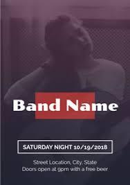 band flyer generator free band poster flyer designs designcap poster flyer maker